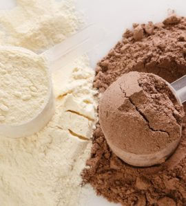 whey-protein-powder-vanilla-chocolate