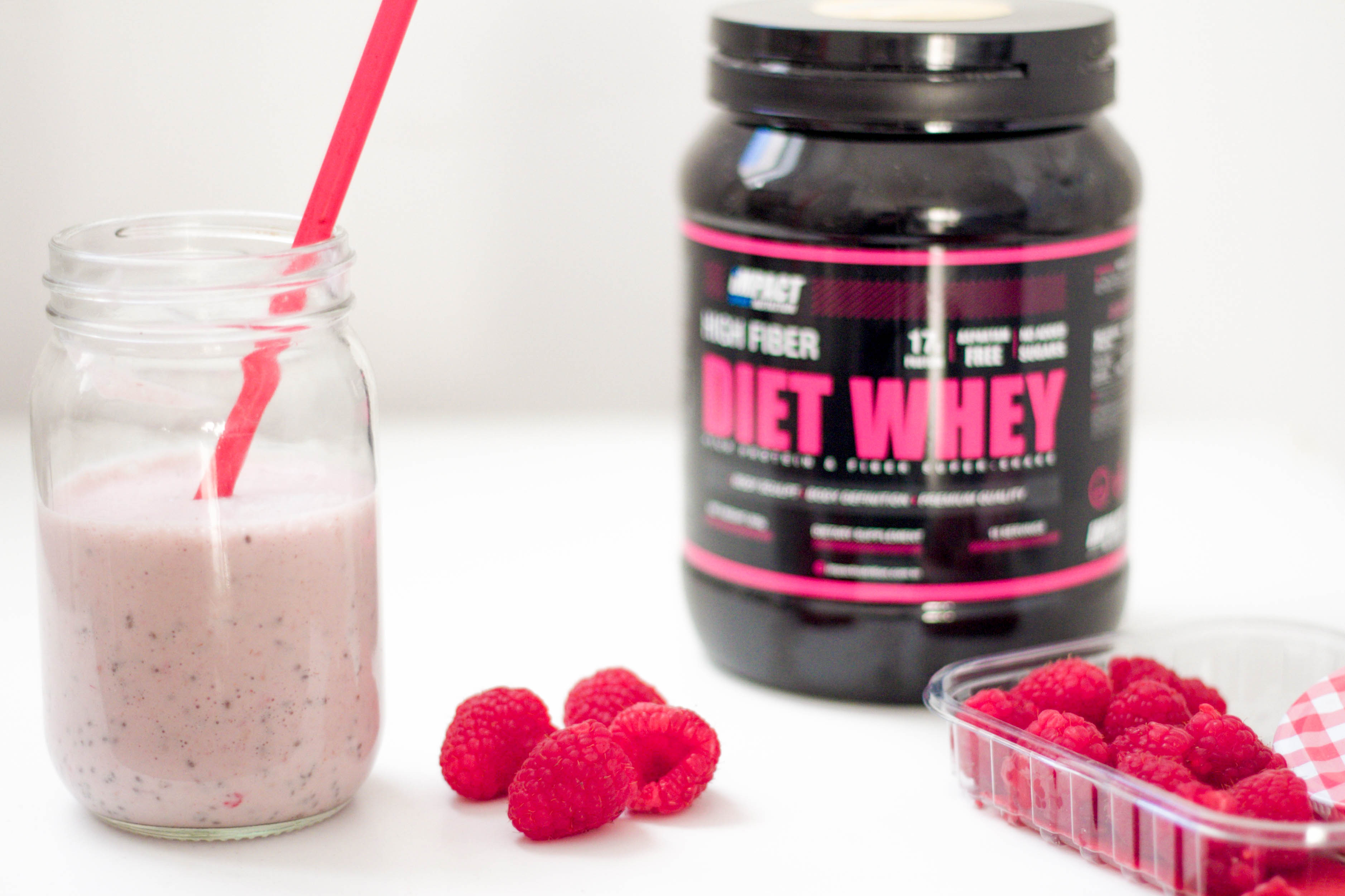 Raspberry Ketogenic Shake
